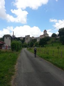 Het hooggelegen Sauveterre-de-Béarn