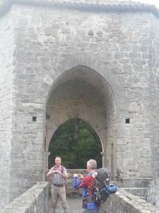 Poort bij le pont de la Légende