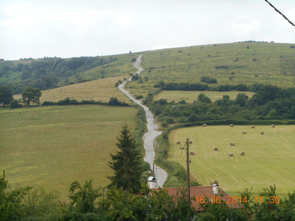 2 km omhoog naar Chapelle de Soyarce
