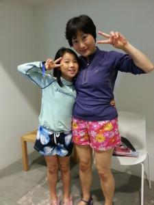 Koreaanse moeder en dochter
