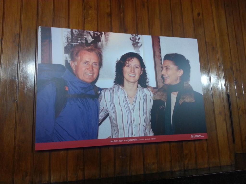 Martin Sheen met Pilar van La Posada