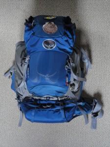 Osprey Kestrel 68 back