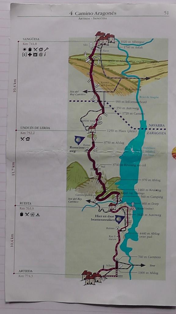 Route dag 5 deel 2 en dag 6