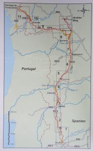 Routekaart Via de la Plata