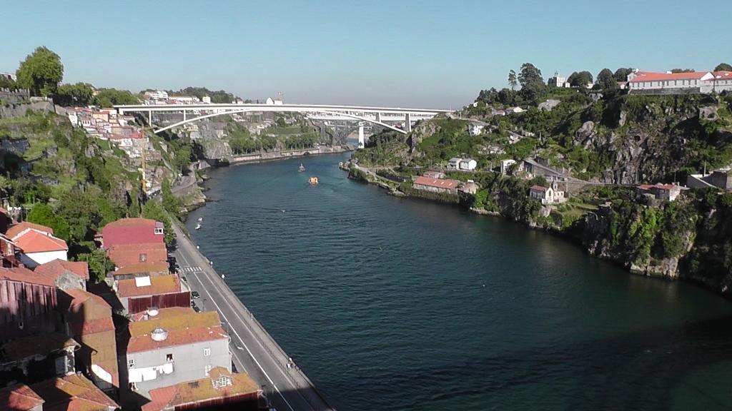 Zicht vanaf Ponte de D. Luis I