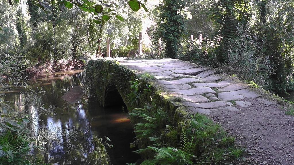 Oude brug voor Orbenlle
