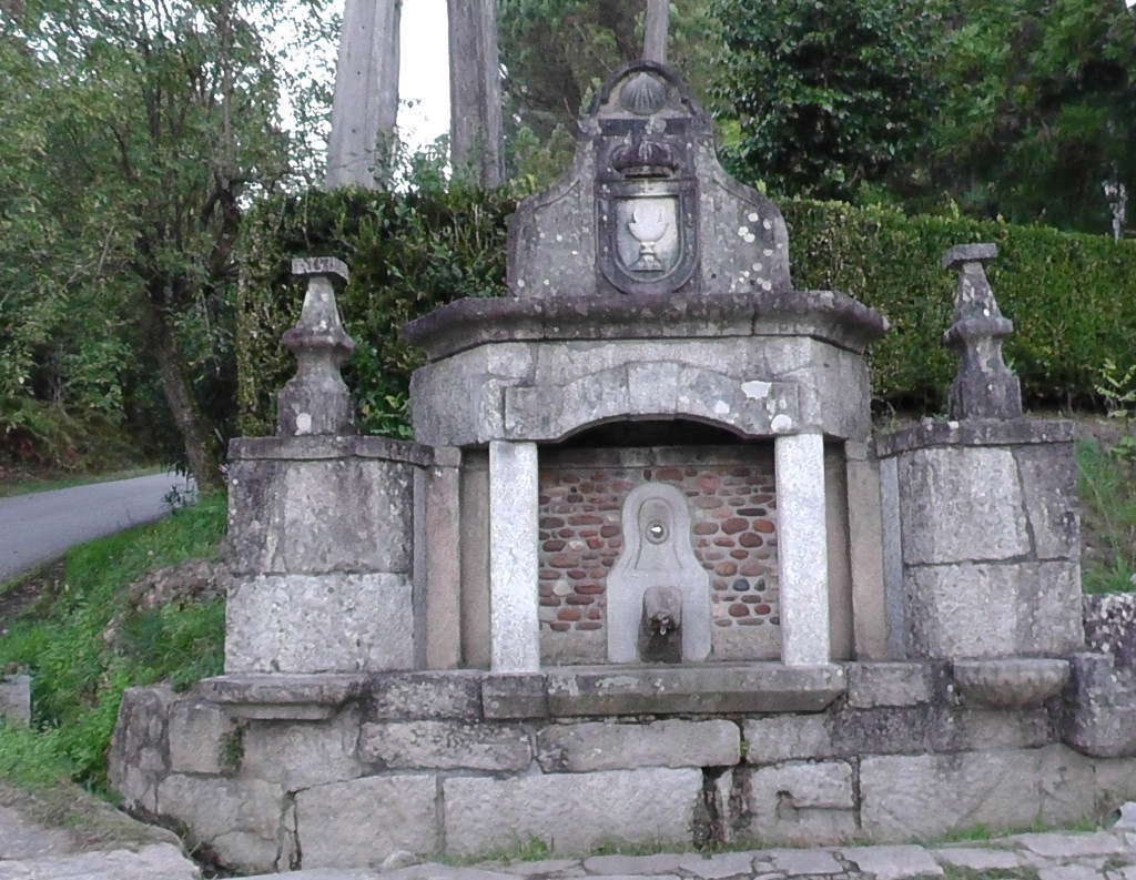Oude waterbron voor Arcade