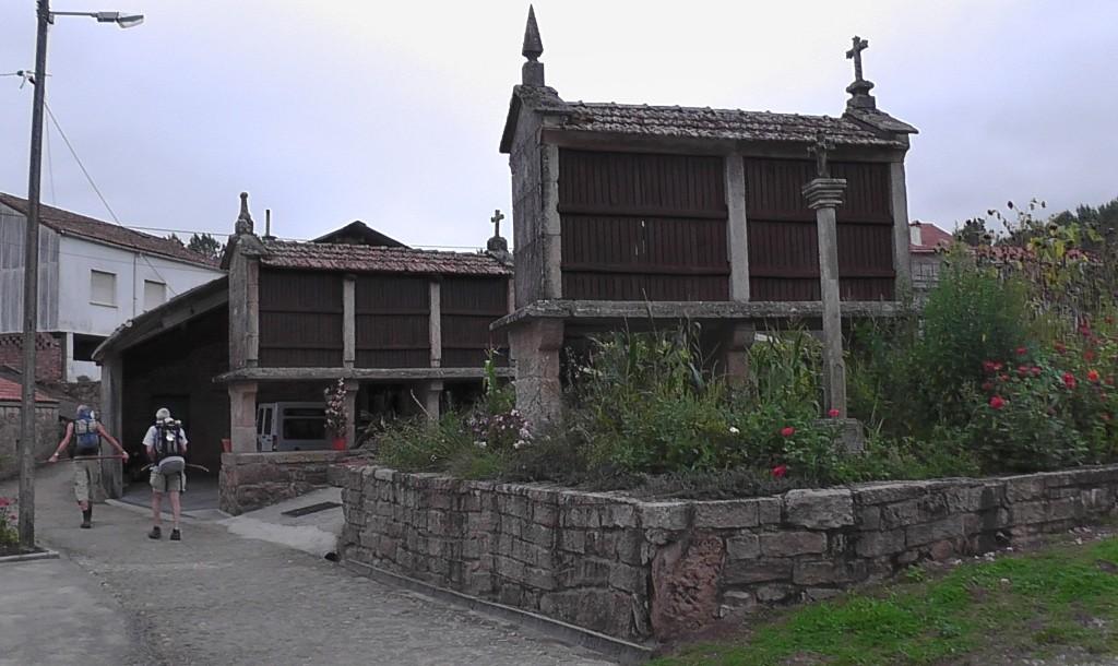 Horreos in Tarrio