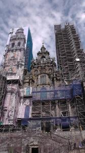 De helaas ingepakte torens