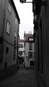 zijstraatje Rúa do Vilar