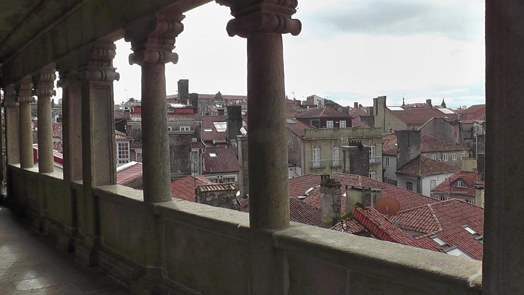 Het oude centrum vanaf de balkonrij