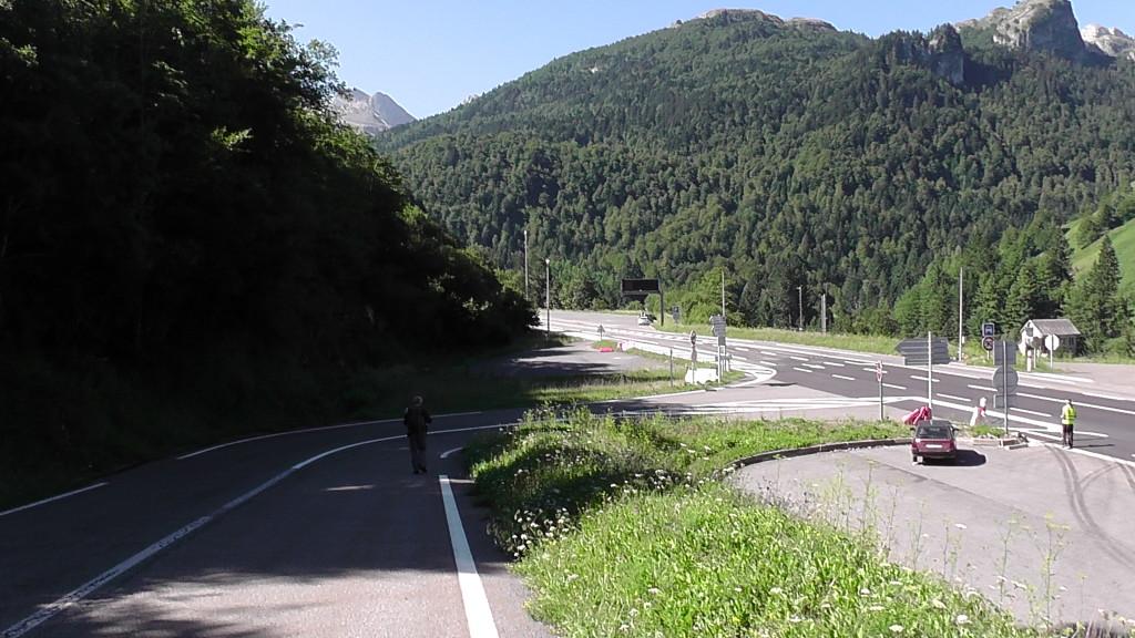 Eerste stappen op de Camino Aragonés