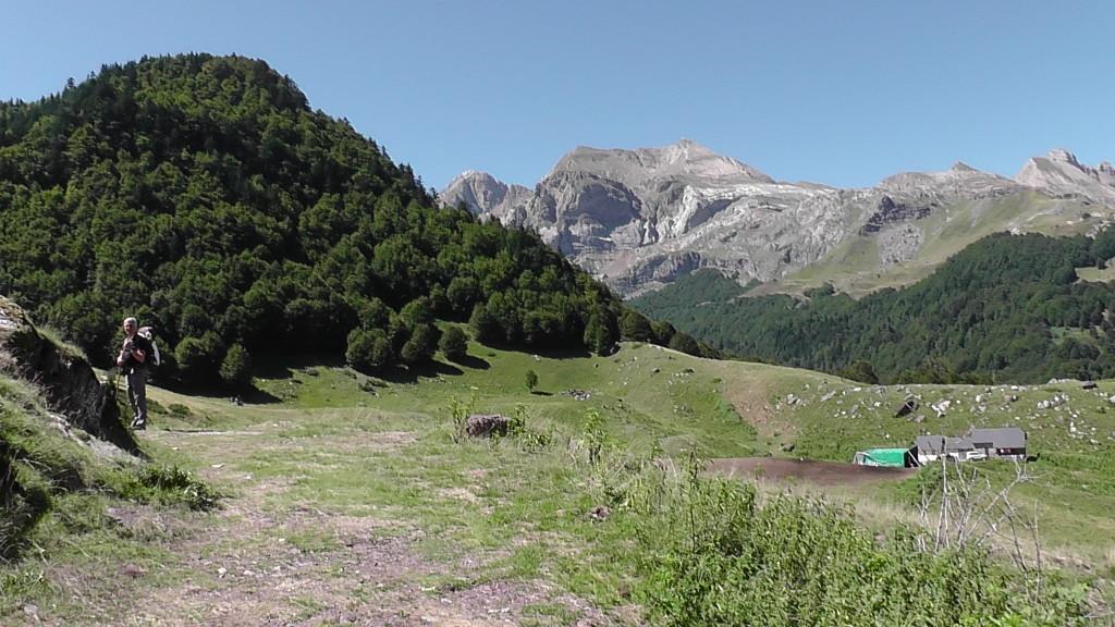 Blik op de Pyreneeën