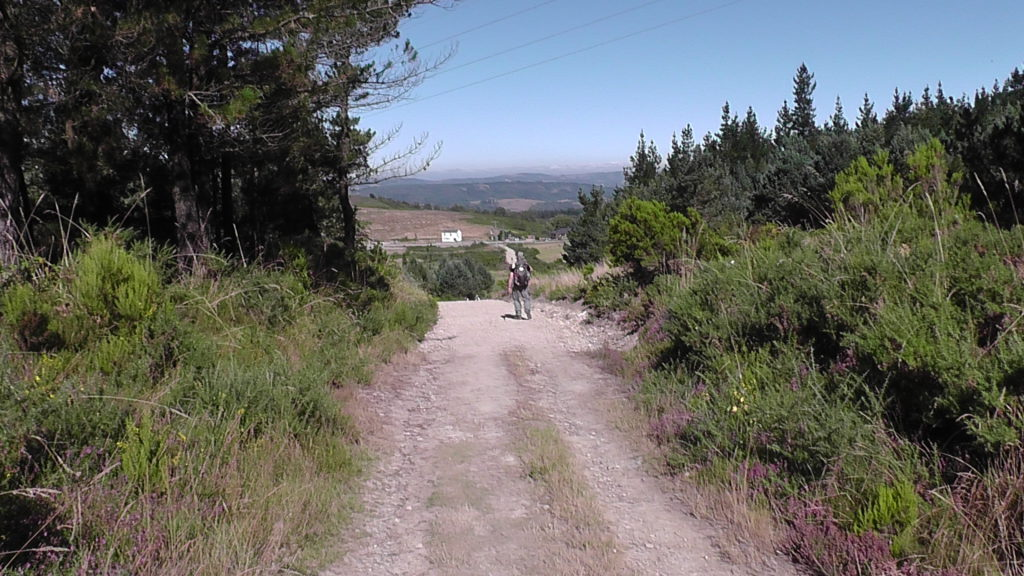 mooie route naar Fonsagrada