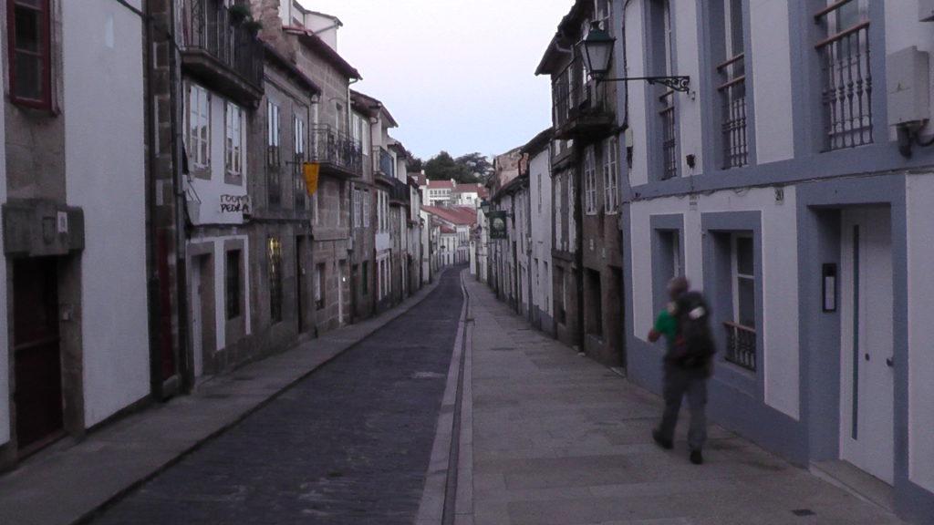 door de Rúa das Hortas