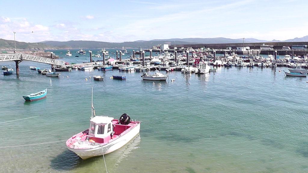 de haven van Fisterra
