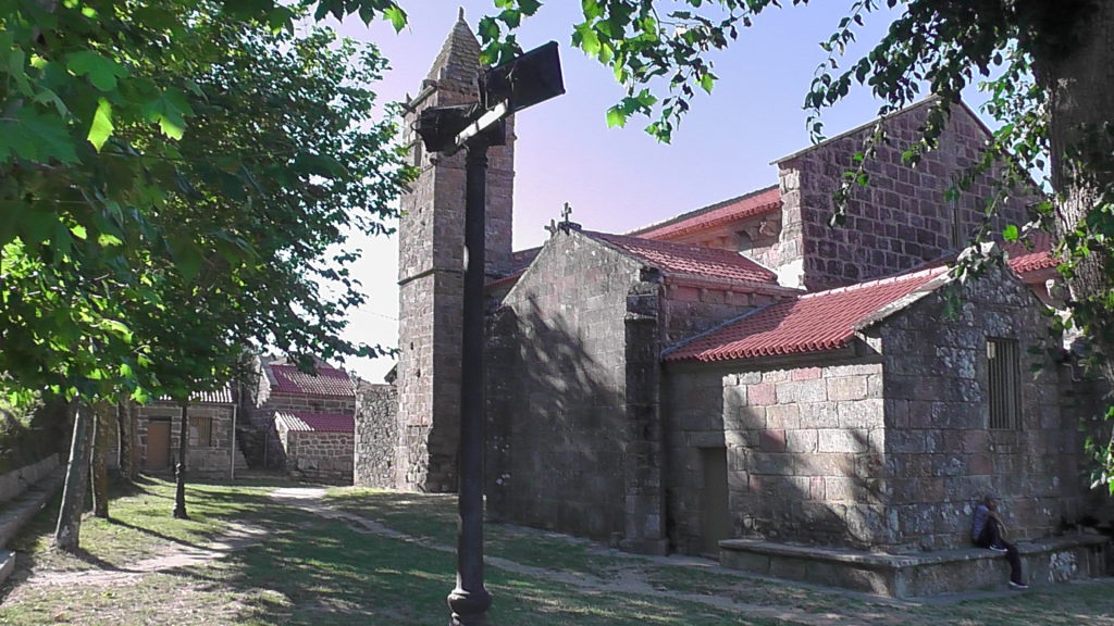 Santa María das Areas, Fisterra